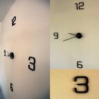 Reloj en acero corten