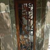 Puerta acero corten